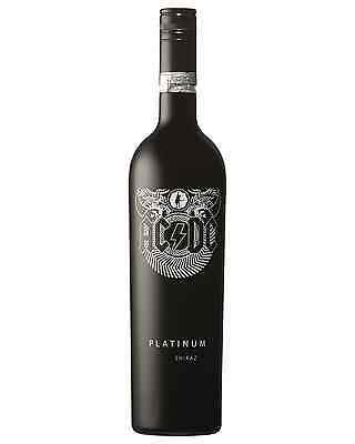 AC/DC Platinum Shiraz case of 6 Dry Red Wine 750mL Barossa Valley