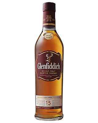 Glenfiddich 15 Year Old Scotch Whisky bottle Single Malt 700mL Speyside
