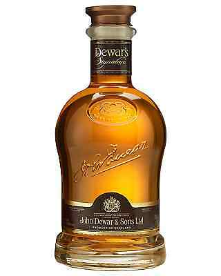 Dewar's Signature Scotch Whisky 750mL case of 4 Blended Whisky