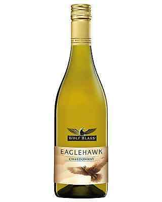 Wolf Blass Eaglehawk Chardonnay case of 6 Dry White Wine 750mL