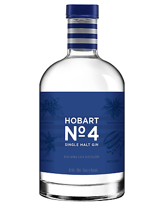 Hobart No. 4 Single Malt Gin 700mL case of 6