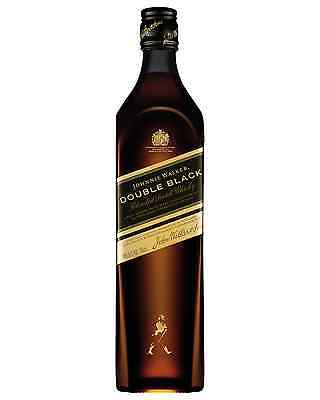 Johnnie Walker Double Black Scotch Whisky 700mL case of 6 Blended Whisky