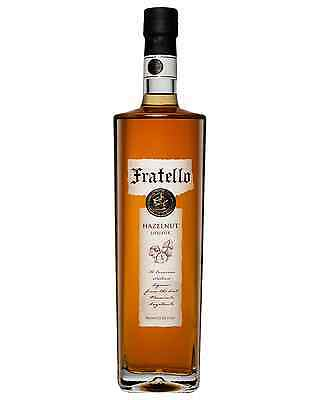 Fratello Hazelnut Liqueur 700mL case of 6 Nut-Flavored Liqueurs