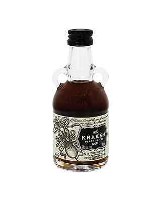 The Kraken Spiced Rum 50mL bottle