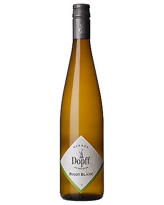 Dopff Au Moulin Pinot Blanc case of 6 Dry White Wine 750mL Alsace