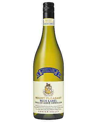 Mount Pleasant Blue Label Semillon bottle Dry White Wine 750mL Hunter Valley