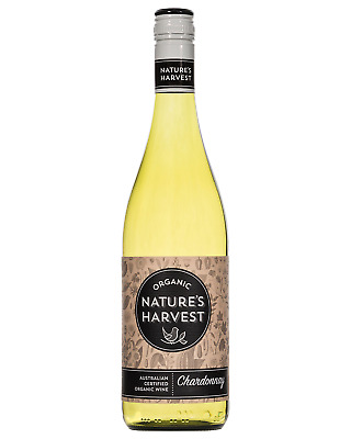 Nature's Harvest Chardonnay bottle Dry White Wine 750mL