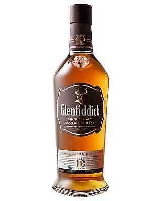 Glenfiddich 18 Year Old Scotch Whisky 700mL case of 3 Single Malt Speyside