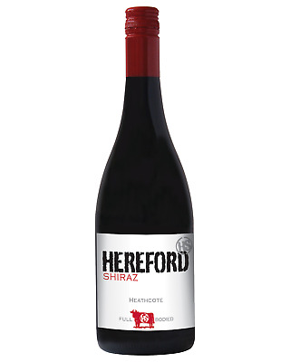 Hereford Heathcote Shiraz case of 6 Dry Red Wine 750mL