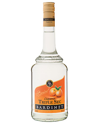 Bardinet Triple Sec 700mL case of 6 Liqueur Fruit Liqueurs