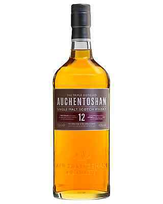 Auchentoshan 12 Year Old Scotch Whisky 700mL case of 6 Single Malt Lowland