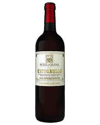 Isole E Olena Cepparello IGT bottle Sangiovese Dry Red Wine 750mL Tuscany