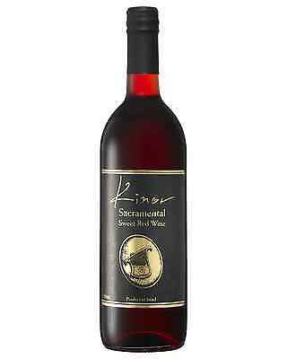 Kinor Sacramental Red bottle Red Blend Sweet Red Wine 750mL