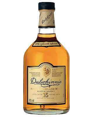 Dalwhinnie 15 Year Old Scotch Whisky 700mL bottle Single Malt Highland