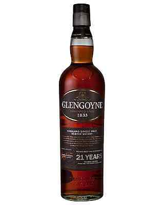 Glengoyne 21 Year Old Scotch Whisky 700mL bottle Single Malt Highland