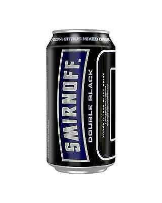 Smirnoff Ice Double Black Cans 10 Pack 375mL pack of 10 Vodka