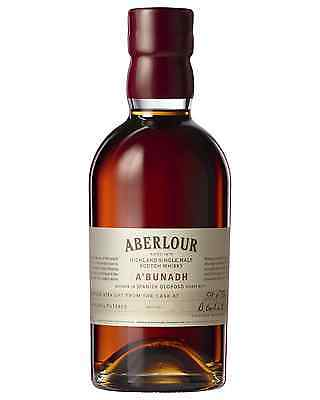 Aberlour A'bunadh Scotch Whisky 700mL case of 6 Single Malt Speyside
