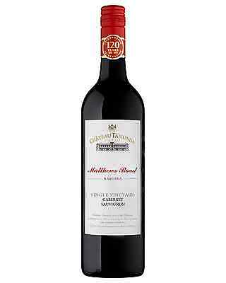 Château Tanunda Matthews Road Cabernet Sauvignon case of 6 Dry Red Wine 750mL