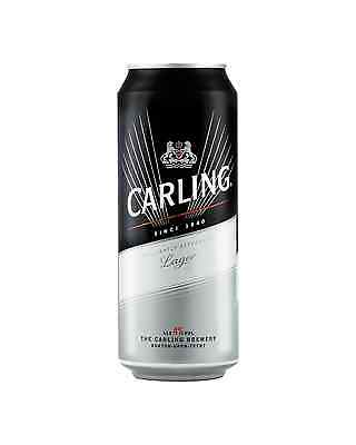 Carling Black Label Cans 500mL case of 24 International Beer Lager