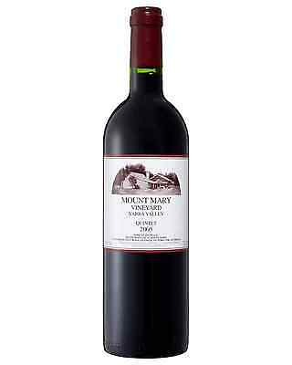 Mount Mary Quintet 2005 bottle Red Blend Dry Red Wine 750mL Yarra Valley