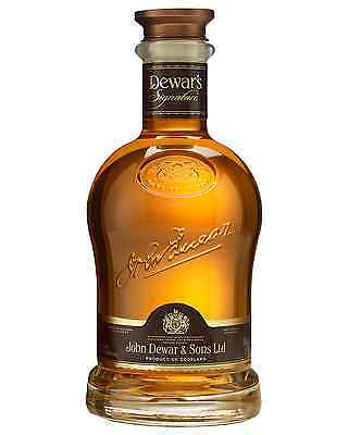 Dewar's Signature Scotch Whisky 750mL bottle Blended Whisky
