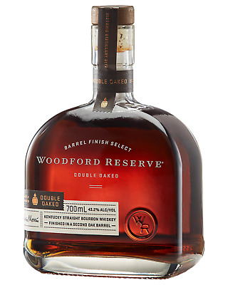 Woodford Reserve Double Oaked Bourbon 700mL case of 6 American Whiskey