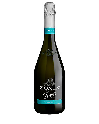 Zonin Prosecco case of 6 Sparkling White Wine 750mL Veneto