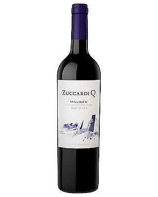 Zuccardi Q Malbec case of 6 Dry Red Wine 2014* 750mL Mendoza