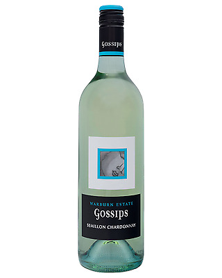 Gossips Semillon Chardonnay case of 6 Dry White Wine 750mL
