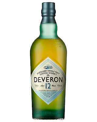 The Deveron 12 Year Old Single Malt Scotch Whisky 700mL case of 6 Highland