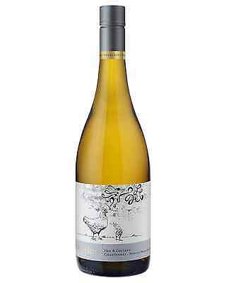 Ad Hoc Hen and Chicken Chardonnay case of 12 Dry White Wine 750mL Pemberton