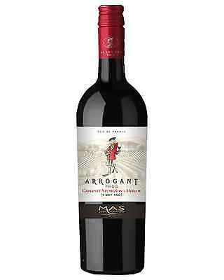 Arrogant Frog Ribet Red Cabernet Merlot case of 6 Dry Red Wine 2015* 750mL