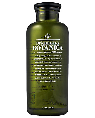 Distillery Botanica bottle Gin Spirit 700mL
