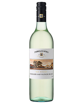 Tyrrell's Old Winery Semillon Sauvignon Blanc case of 6 Dry White Wine 750mL