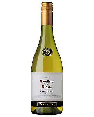 Casillero Del Diablo Chardonnay case of 6 Dry White Wine 750mL