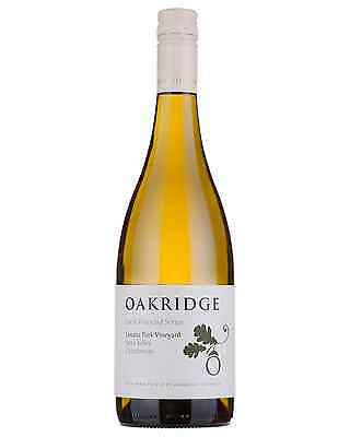 Oakridge Local Vineyard Series Lusatia Park Chardonnay case of 6 Dry White Wine