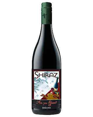 Fowles Wine Are You Game? Shiraz case of 12 Dry Red 750mL