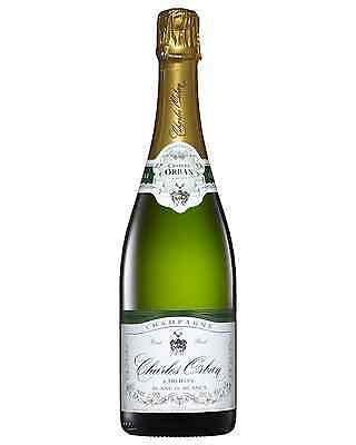 Champagne Charles Orban Blanc de Blancs case of 6 Chardonnay Sparkling White