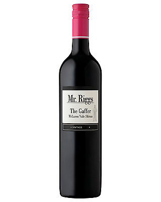 Mr Riggs The Gaffer Shiraz case of 6 Dry Red Wine 750mL McLaren Vale