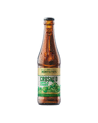 Monteith's Crushed Apple Cider 330mL case of 24