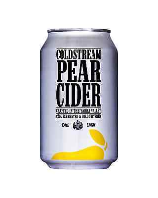 Coldstream Pear Cider Cans 330mL case of 24