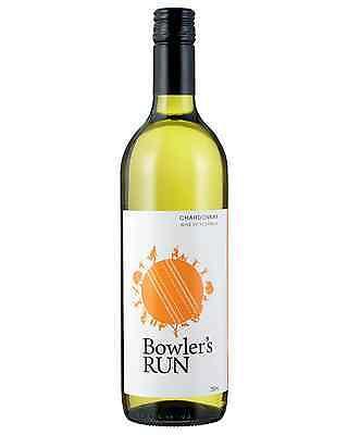 Bowler's Run Chardonnay case of 6 Dry White Wine 750mL