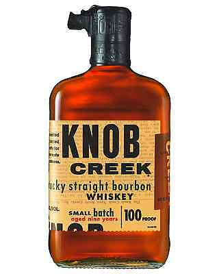 Knob Creek 9 Year Old Kentucky Straight Bourbon 700mL bottle American Whiskey