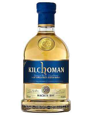 Kilchoman Machir Bay Islay Single Malt Scotch Whisky 700mL case of 6