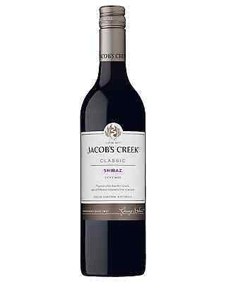 Jacob's Creek Classic Shiraz case of 6 Dry Red Wine 750mL