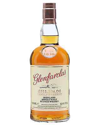Glenfarclas £511.19s.Od Family Reserve Scotch Whisky 700mL case of 6