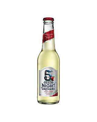 5 Seeds Night Orchard Apple Cider with Vodka 275mL case of 24