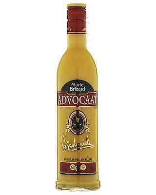 Marie Brizard Advokaat 500mL case of 6 Liqueur Cream Liqueurs