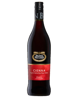 Brown Brothers Cienna case of 6 Sweet Red Wine 2016* 750mL