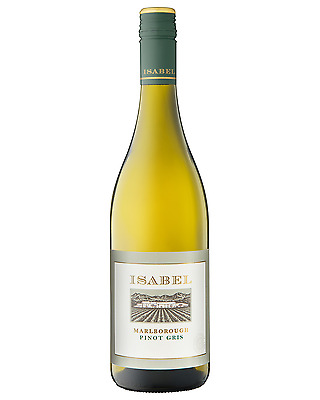 Isabel Estate Pinot Gris case of 6 Dry White Wine 750mL Marlborough
